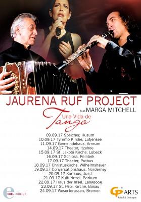 JAURENA RUF PROJECT auf Tour in Norddeutschland