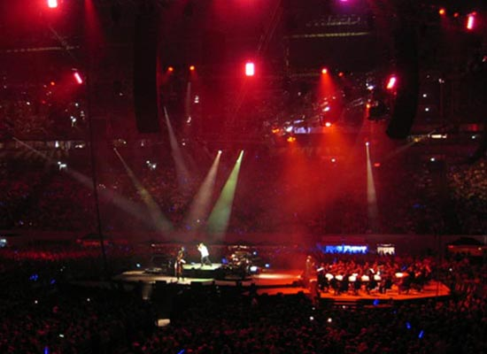 GermanPopsOrchestra, PUR; Auf Schalke 2007